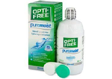 OPTI-FREE PureMoist kontaktlēcu kopšanas šķīdums (300ml)