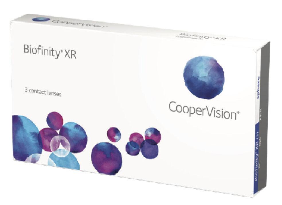 6 lēcu komplekts Biofinity (mēneša kontaktlēcas)